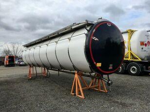cisternový kontejner 10 stop NUR TANKAUFBAU 32.000 ltr 12500+6.000+13500