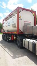 cisternový kontejner 20 stop VAN HOOL ОРЕНДА / Охолодження -10 / Підігрів + 80