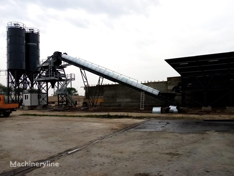 nový betonárna CONSTMACH 60 m3 Stationary Concrete Batch Plant For Sale