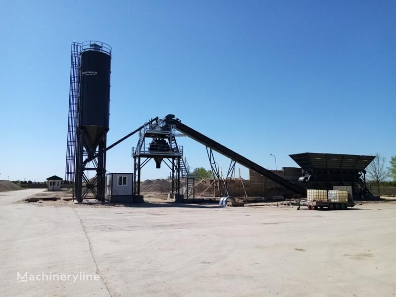 nový betonárna CONSTMACH Full Automated Fixed Batch Plant 60 M3 Capacity