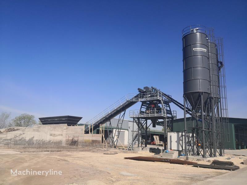 nový betonárna CONSTMACH Stationary 100 M3 Concrete Plant - READY IN STOCK