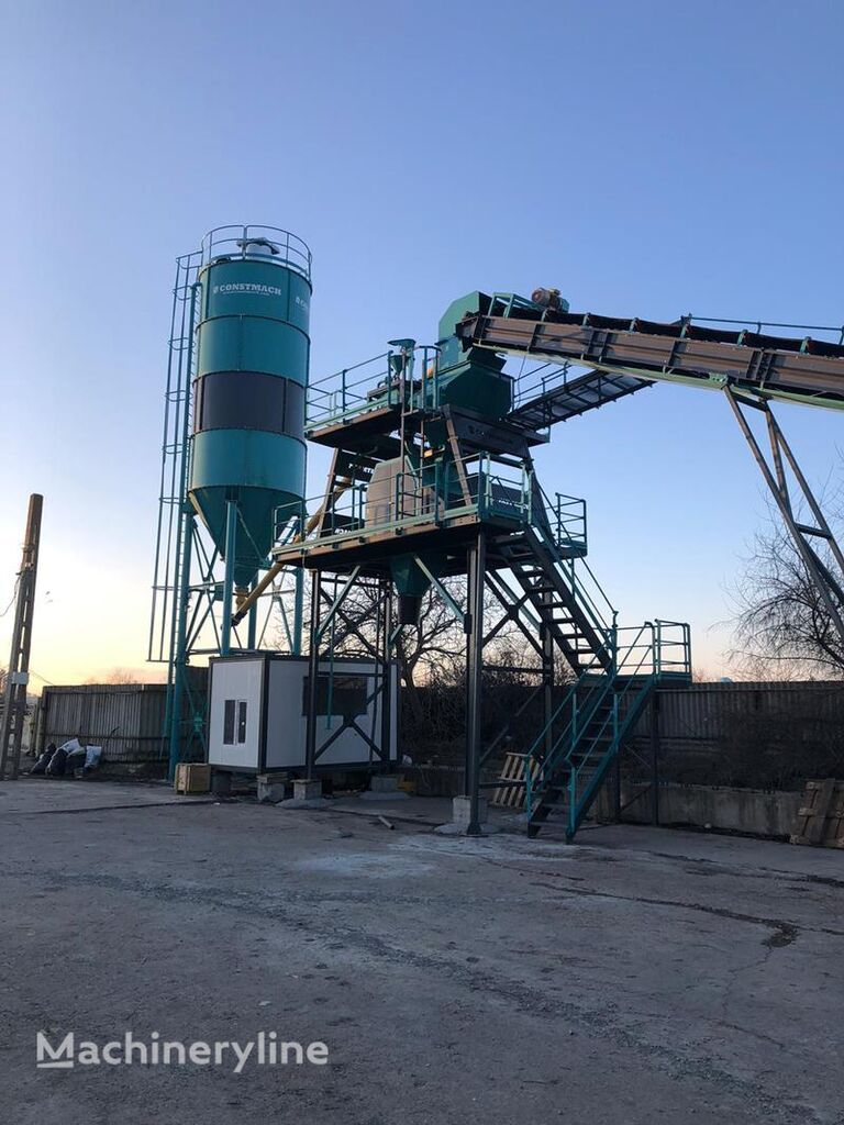 nový betonárna CONSTMACH Stationary Concrete Batching Plants At Best Prices And Performan