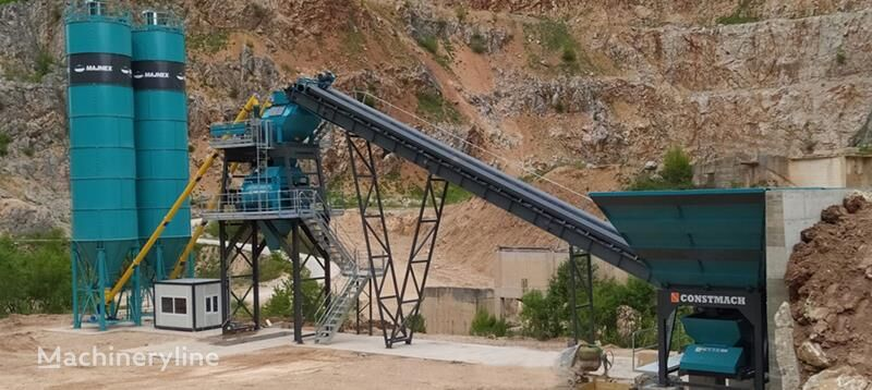nový betonárna CONSTMACH Turkey's leading concrete batching plant manufacturer - 100 m3 F