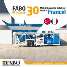 nový betonárna FABO MINIMIX-30M3/H MINI CENTRALE A BETON MOBILE