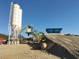 nový betonárna PROMAX Mobile Concrete Batching Plant PROMAX M60-SNG(60m³/h)