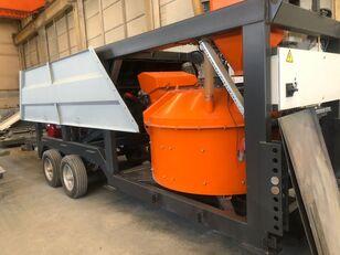 nový betonárna Plusmix MT30 : 30 m³/ hour MINI MOBILE Concrete Plant