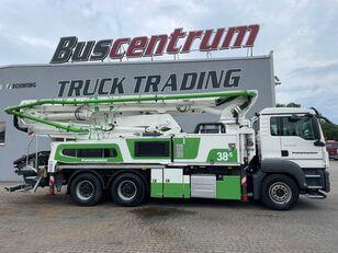 čerpadlo betonu Putzmeister BSF 38-5.16 HLS na šasi MAN TGS 26.400 6x4 Putzmeister 38-5 m / Top Pump / German Truck