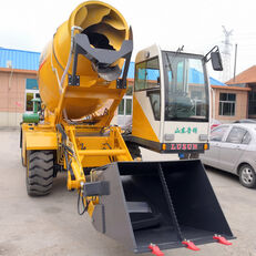 nový kolové rypadlo LUZUN selfloading concrete mixer