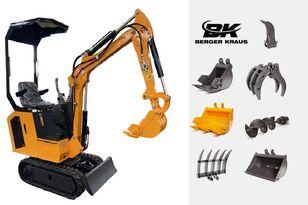 nový minibagr BERGER KRAUS Mini Excavator BK800BS torsion arm with FULL equipment