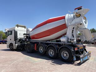 nový návěs autodomíchávač ALIM mixer semi trailer concrete mixer semi-trailer