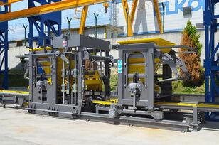 nový stroj na výrobu betonových prefabrikátů ELKON ELKOBLOCK-36S FULLY AUTOMATIC SINGLE LAYER Concrete Block Machin