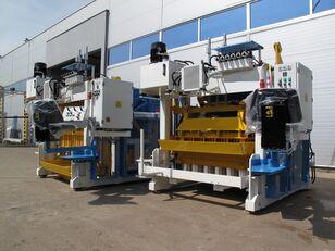nový stroj na výrobu betonových prefabrikátů SUMAB E-6 (2000 blocks/hour) Movable block machine
