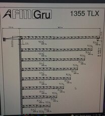 věžový jeřáb FMGru TLX 1355