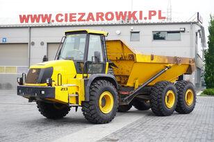 kloubový dempr JCB 722 , 6X6 , 12m3 / 20t max load , ZF gearbox , ROPS , A/C