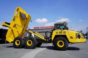kloubový dempr KOMATSU HM400-3 , 34t , 6X6 , 24m3/40t load , ROPS , CE